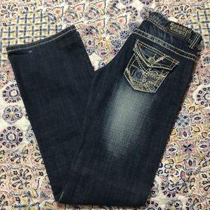 Women's jeans size 28x34. Low Raise